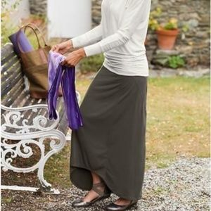 Athleta XS Thrones Maxi High-Low Skirt